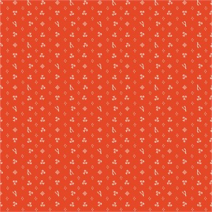 Arleen Hillyer for Birch Organic Fabrics, Merryweather, Merrythought Red