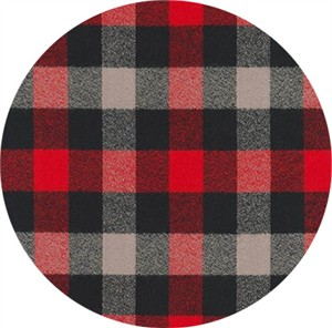 Robert Kaufman, Mammoth FLANNEL, Campout Red
