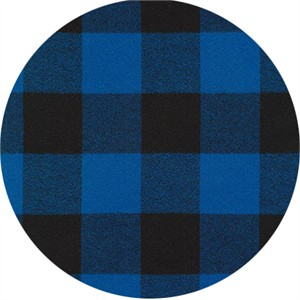 Robert Kaufman, Mammoth FLANNEL, Buffalo Check Blue