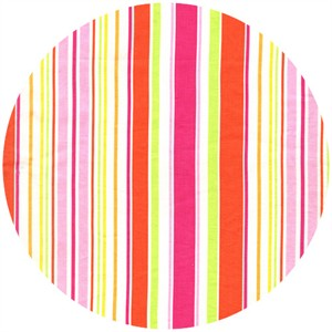 Michael Miller, Sea Buddies, Umbrella Stripe Pink