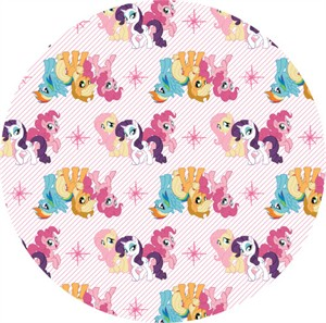 Camelot Fabrics, My Little Pony, Friends White