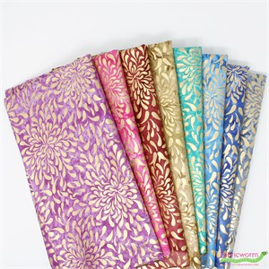 Imported Batik, Montego Bay Metallic in FAT QUARTERS 8 Total