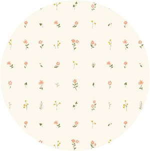 Jenny Ronen for Birch Organic Fabrics, Little, Morning Bloom