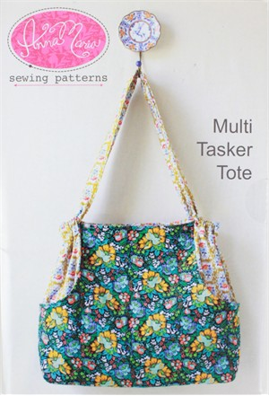 Anna Maria, Sewing Pattern, Multi Tasker Tote