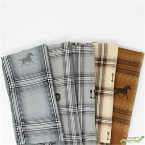 Imported Woven Yarn-Dyes, Mustang Trail Ride in FAT QUARTERS 5 Total