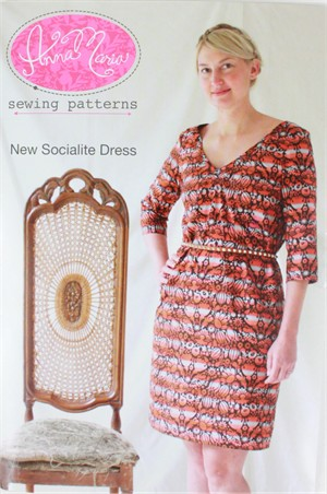 Sewing Pattern, Anna Maria, New Socialite Dress