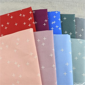 AVAILABLE FOR PREORDER, Birch Organic Fabrics, Mod Basics 3, Wink in FAT QUARTERS 9 Total