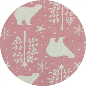 Japanese Import, BRUSHED CANVAS, North Polar Pink