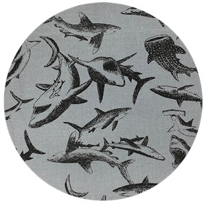 Japanese Import, OXFORD, Shark Attack Grey