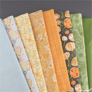 Fabricworm Custom Bundle, October Harvest in FAT QUARTERS 8 Total