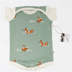 Kinder Play Co, Organic Cotton, Sly Fox Onesie