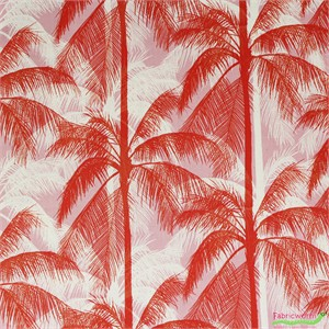Cotton and Steel, Poolside, Palms Pink