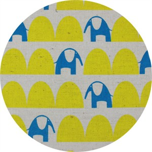 Japanese Import, CANVAS, Parallelephant Yellow