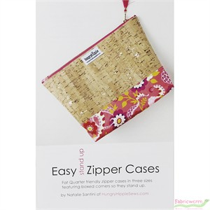 HungryHippie Sews, Sewing Pattern, Easy Stand Up Zipper Cases