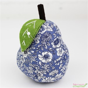 Liberty London, Pear Pin Cushion Blue