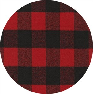 Robert Kaufman, Mammoth FLANNEL, Picnic Red