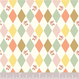 COMING SOON, Arleen Hillyer for Birch Organic Fabrics, Pirouette, Harlequinade