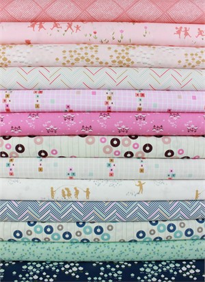 Amy Sinibaldi for Art Gallery, Playground in FAT QUARTERS 13 Total