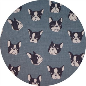 Japanese Import, LIGHTWEIGHT DENIM, Pooch Pout Light Blue