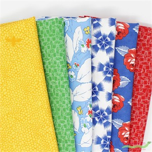 Fabricworm Custom Bundle, Prime Perennials in FAT QUARTERS 6 Total