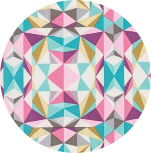 Joel Dewberry for Free Spirit, Modernist, Prismatic Pink