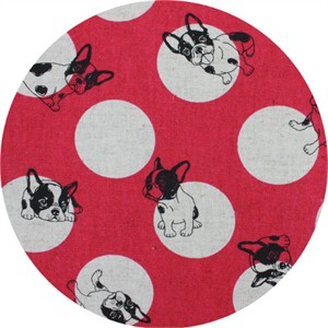 Japanese Import, CANVAS, Pup Dot Fuchsia