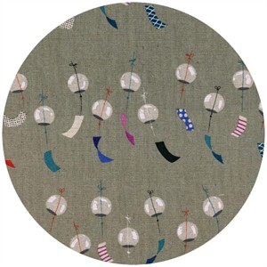 Rashida Coleman-Hale for Cotton and Steel, Zephyr, CANVAS, Chimes Linen