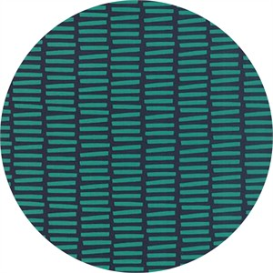 Studio M for Moda, Basic Mixologie Geometrics, Rectangle Stripe Dark Blue
