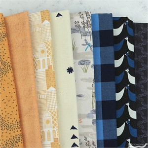Fabricworm Custom Bundle, Reeds to Riches in FAT QUARTERS 8 Total