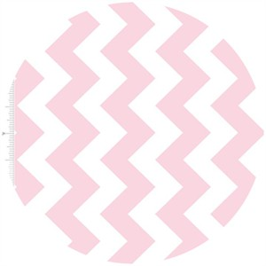 Riley Blake, Medium Chevron, Baby Pink