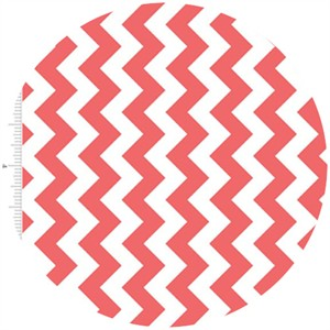 Riley Blake, Small Chevron, Rouge