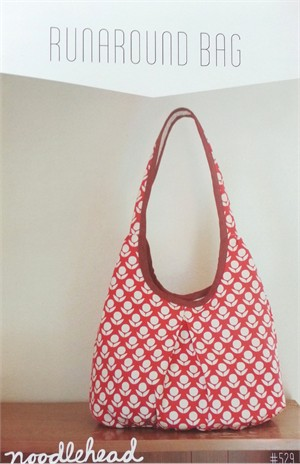 Noodlehead, Sewing Pattern, Runaround Bag