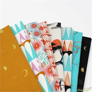 Sarah Watts for Cotton and Steel, Santa Fe in FAT QUARTERS 8 Total (PRECUT)