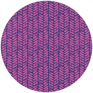 Sarah Watts for Cotton and Steel, Honeymoon, Palm Purple