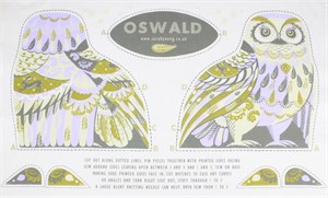 Sarah Young, Tea Towel Plushies, Oswald
