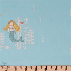 COMING SOON, Jay-Cyn Designs for Birch Organic Fabrics, Storyboek Drie, Mermaids