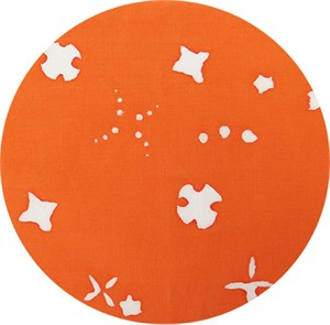 Alison Glass for Andover, Chroma Handcrafted, Scatter Carrot