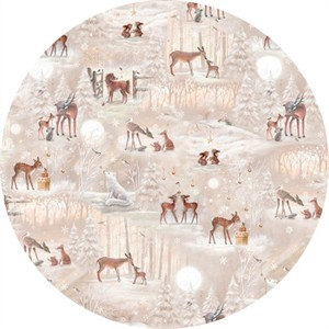 Quilting Treasures, Woodland Wonder, Scenic Light Khaki