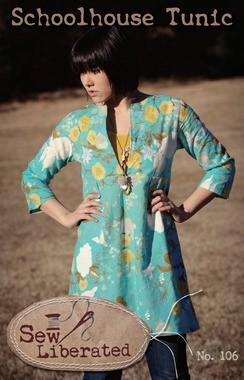 Sew Liberated, Sewing Pattern, Schoolhouse Tunic