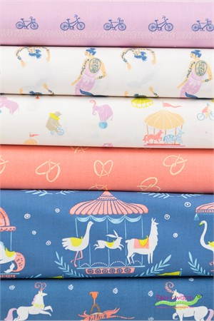 Rae Ritchie for Dear Stella, Seaside Carnival in FAT QUARTERS 6 Total
