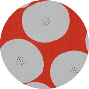 Japanese Import, CANVAS, Seeded Dots Red