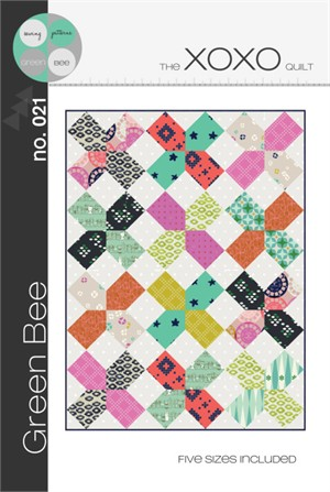 Green Bee, Sewing Pattern, XOXO Quilt