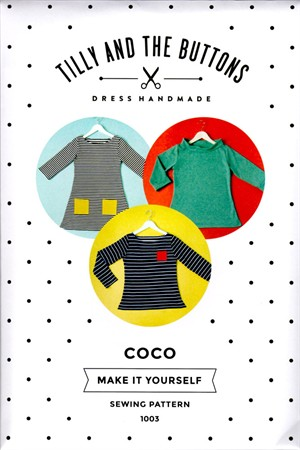 Tilly and the Buttons, Sewing Pattern,  Coco