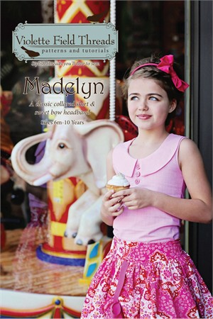 Violette Field Threads, Sewing Pattern, Madelyn Shirt Pattern
