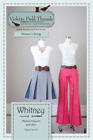 Violette Field Threads, Sewing Pattern, Whitney (Misses)