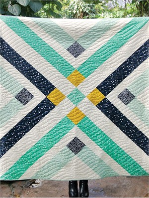 Free Pattern | Retro Plaid Quilt | By Suzy Williams