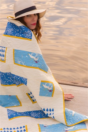 Free Pattern | Sea Feed | By Lunden Designs