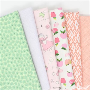 Fabricworm Custom Bundle, Sew Charming in FAT QUARTERS 5 Total