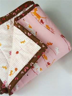 Sewing Tutorial | Melissa's 2 Hour Bound Whole Cloth Quilt