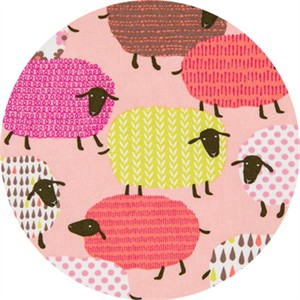 Japanese Import, OXFORD, Shapely Sheep Pink
